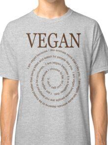 Vegan Because Classic T-Shirt