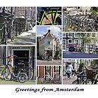 Bikes, Bikes, Bikes by Kasia-D