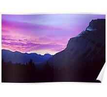 Sunrise- Banff National Park, Canada Poster