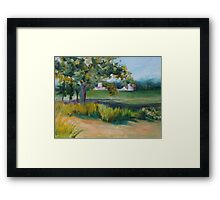 Sink's Farm Framed Print