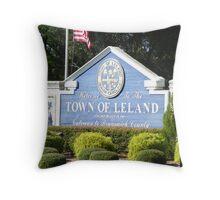Leland Gateway to Brunswick County NC Throw Pillow