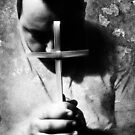 Bowing Before The Cross by SquarePeg
