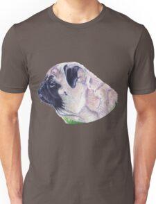 Pug Portrait T-shirt or Hoodie Unisex T-Shirt