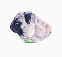 Pug Portrait T-shirt or Hoodie Unisex T-Shirt