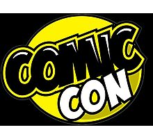 Comic Con - Black and Yellow Photographic Print
