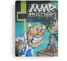MMR injection, anyone? Canvas Print