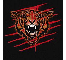 Tiger Blood Evil Slash Drip Photographic Print