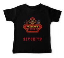 Five Nights at Freddy's - FNAF 3 - Fazbear's Fright Security Baby Tee