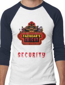 Five Nights at Freddy's - FNAF 3 - Fazbear's Fright Security Men's Baseball ¾ T-Shirt