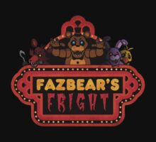 Five Nights at Freddy's - FNAF 3 - Fazbear's Fright One Piece - Short Sleeve