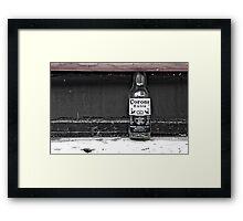 Cool Corona Framed Print