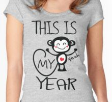 Ths is my year Women's Fitted Scoop T-Shirt