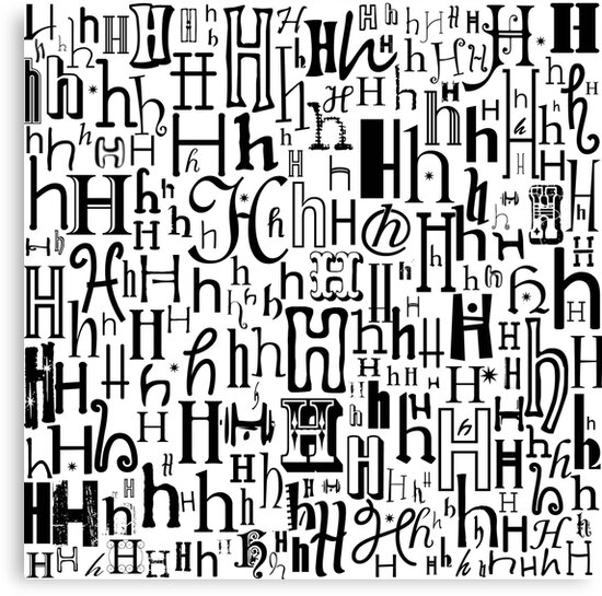 The Letter H by Julie Hartman