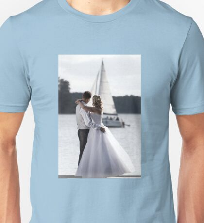 Wedding open air portrait Unisex T-Shirt