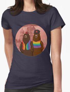 Bears boyfriends Womens Fitted T-Shirt