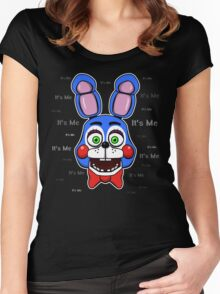 Five Nights at Freddy's - FNAF 2 - Toy Bonnie - It's Me Women's Fitted Scoop T-Shirt