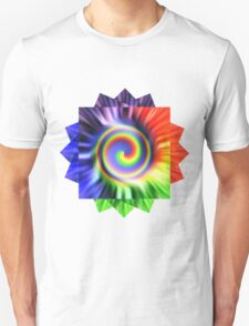 Tie Dyed Flower T-Shirt