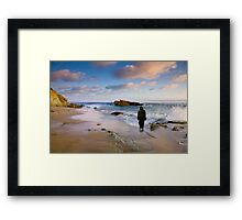 Jesus-The world is not enough Framed Print