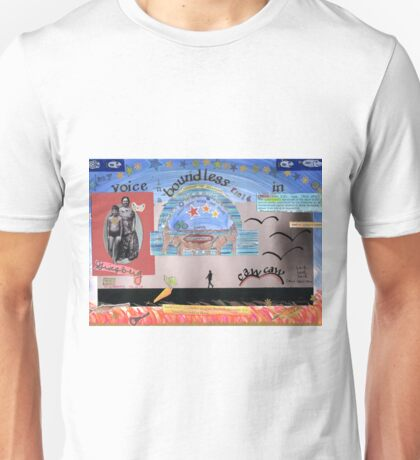 My voice, boundless, in Sheol  Unisex T-Shirt