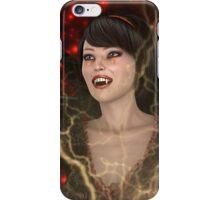 Lady Vamp iPhone Case/Skin