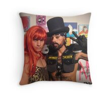 Fabulous people Throw Pillow