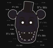 Five Nights at Freddy's - FNAF 2 - Shadow Freddy - It's Me One Piece - Short Sleeve