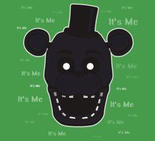 Five Nights at Freddy's - FNAF 2 - Shadow Freddy - It's Me One Piece - Short Sleeve