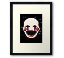 Five Nights at Freddy's - FNAF 2 - Puppet - It's Me Framed Print