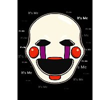 Five Nights at Freddy's - FNAF 2 - Puppet - It's Me Photographic Print