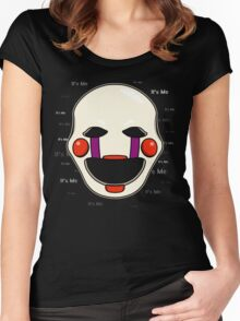 Five Nights at Freddy's - FNAF 2 - Puppet - It's Me Women's Fitted Scoop T-Shirt