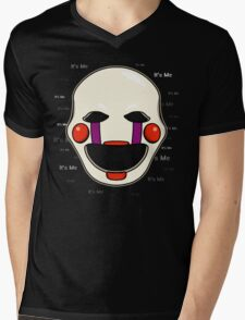 Five Nights at Freddy's - FNAF 2 - Puppet - It's Me Mens V-Neck T-Shirt