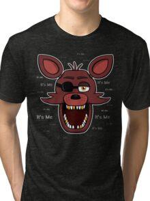 Five Nights at Freddy's - FNAF - Foxy - It's Me Tri-blend T-Shirt