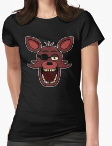 Five Nights at Freddy's - FNAF - Foxy  Womens Fitted T-Shirt