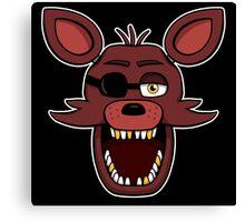 Five Nights at Freddy's - FNAF - Foxy  Canvas Print