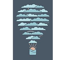 Weather Balloon Photographic Print