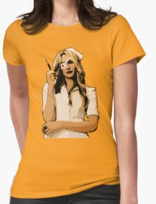 Elle Womens Fitted T-Shirt