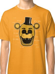 Five Nights at Freddy's - FNAF - Golden Freddy - It's Me Classic T-Shirt
