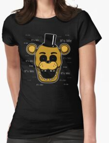 Five Nights at Freddy's - FNAF - Golden Freddy - It's Me Womens Fitted T-Shirt