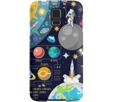 Universe Concepts Infographics Samsung Galaxy Case/Skin