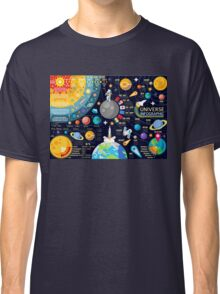 Universe Concepts Infographics Classic T-Shirt