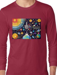 Universe Concepts Infographics Long Sleeve T-Shirt