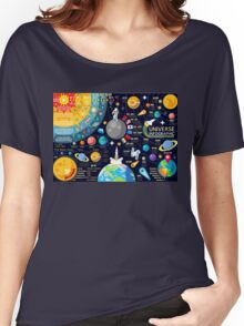 Universe Concepts Infographics Women's Relaxed Fit T-Shirt