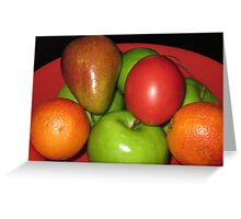 Fruit Medley Greeting Card