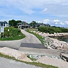 Monahan's Dock And Exit Road - Narragansett RI by Jack McCabe