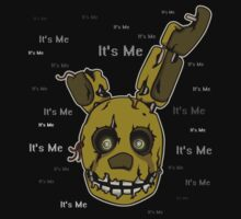 Five Nights at Freddy's - FNAF 3 - Springtrap - It's Me Kids Clothes