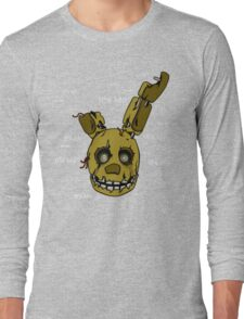 Five Nights at Freddy's - FNAF 3 - Springtrap - It's Me Long Sleeve T-Shirt