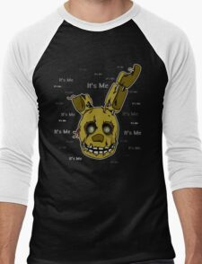 Five Nights at Freddy's - FNAF 3 - Springtrap - It's Me Men's Baseball ¾ T-Shirt