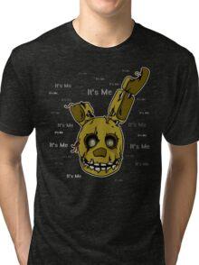 Five Nights at Freddy's - FNAF 3 - Springtrap - It's Me Tri-blend T-Shirt