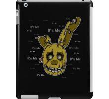 Five Nights at Freddy's - FNAF 3 - Springtrap - It's Me iPad Case/Skin