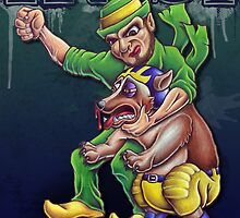 Irish vs Wolverine by mrodewald